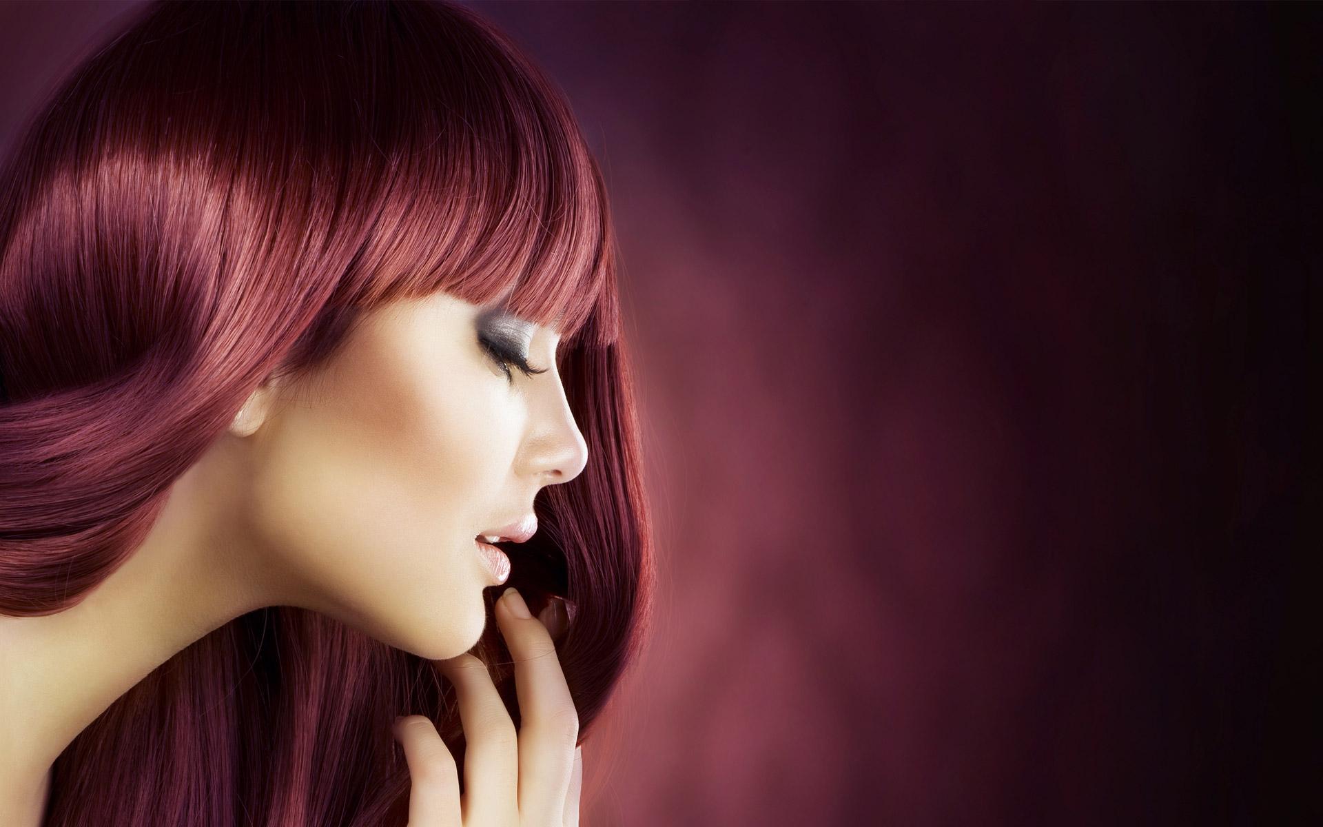 Coiffure femme mi long avec frange droite salon de - Salon de coiffure coloration vegetale ...